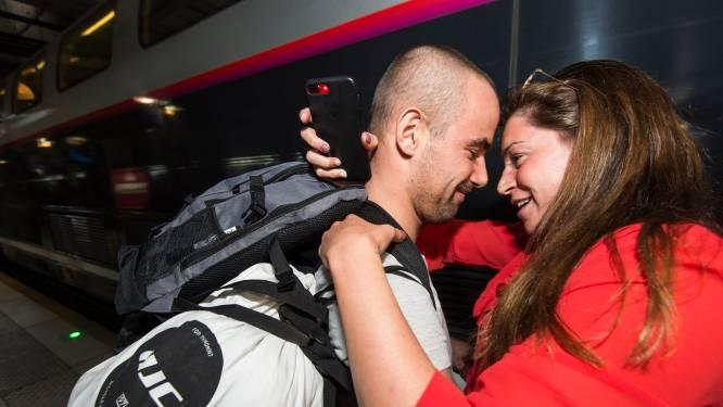 """Fanny Lecluyse over Giro-ritzege van vriend Campenaerts: """"Hij zag er zo gelukkig uit, dit stond op zijn lijstje"""""""