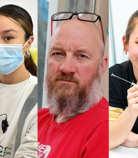 Van een student tot reanimatie-instructeur: dit zijn de helden die het coronavaccin in jouw 'onbevlekte' arm prikken
