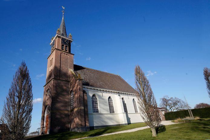 De Nederlands hervormde kerk in Zijderveld