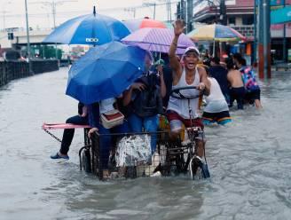 Windstoten tot 180 km/u bij hevige regen op Filipijnen: drie doden, 25.000 mensen moeten huis verlaten