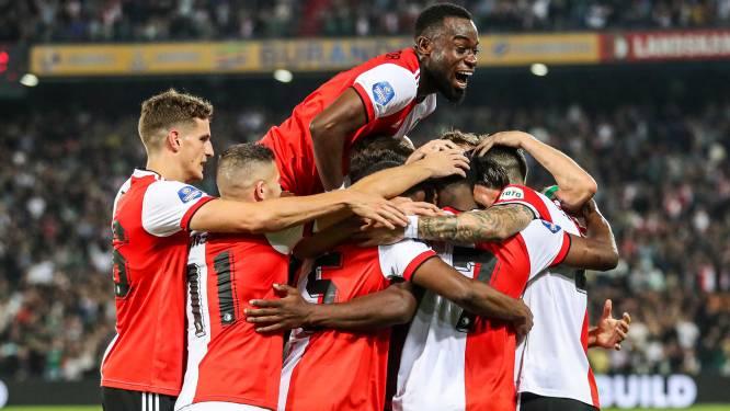 Feyenoord rekent na spektakelstuk pas in extremis af met brutaal NEC