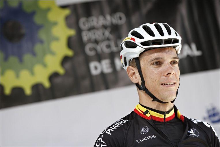 Belgisch kampioen Philippe Gilbert is kopman in de selectie van bondscoach Carlo Bomans. Beeld PHOTO_NEWS