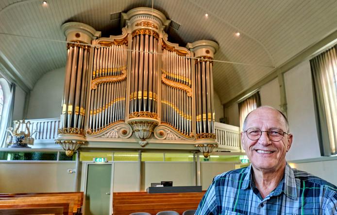 Het Knipscheer-orgel van de gereformeerde kerk in Strijen.