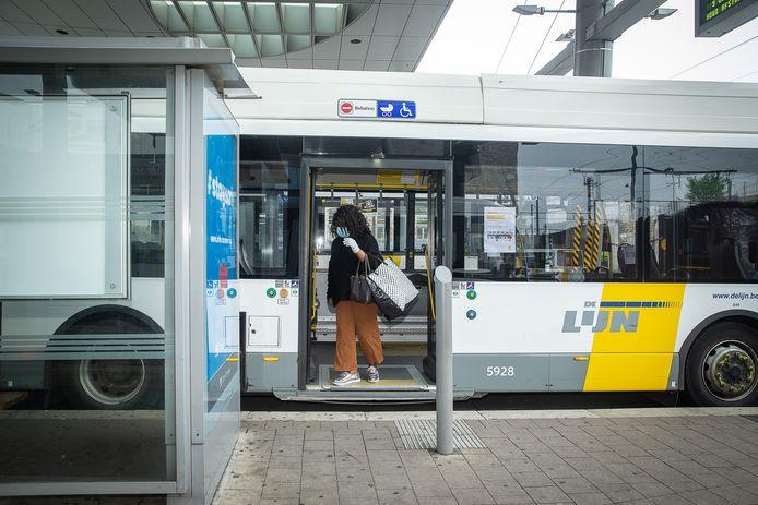 Het Sint-Pieters station in Gent.