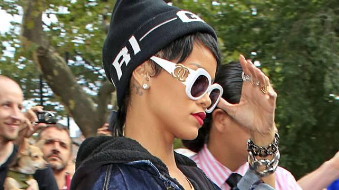 Gespot: het 'matje' van Rihanna