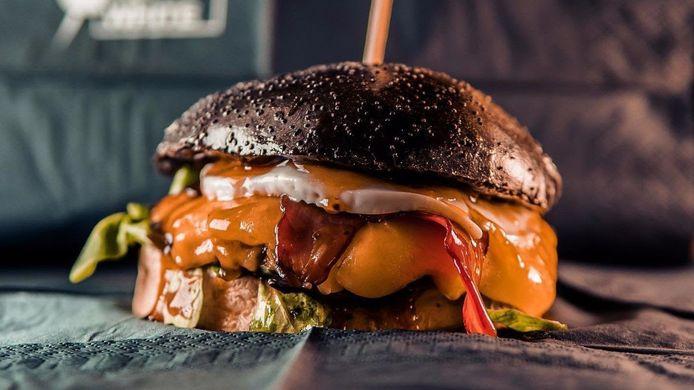 Le burger proposé par IbraTV.