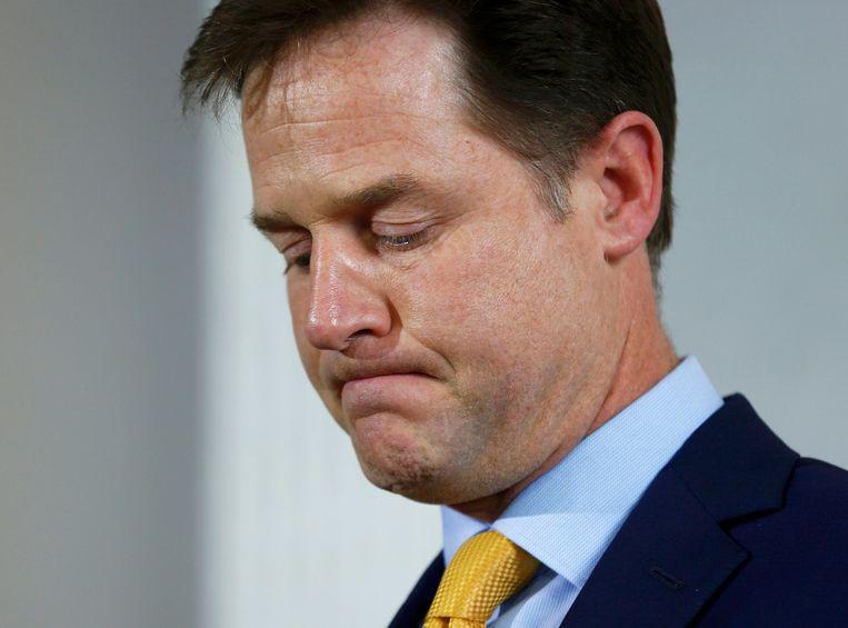 Nick Clegg. Beeld reuters