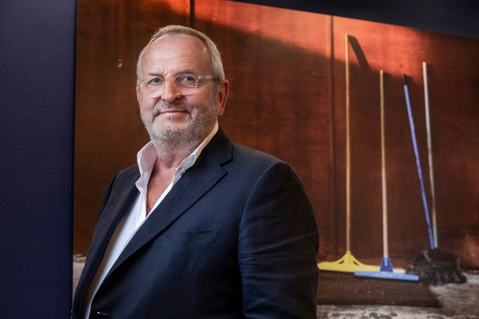 Michiel Witteveen (67), topman en grootaandeelhouder van Mirage Retail Group.