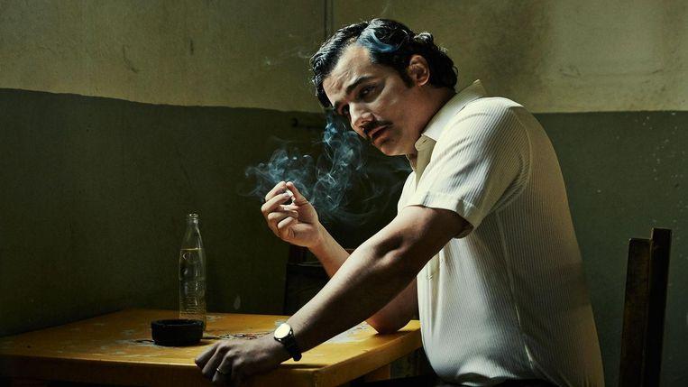 Serie: Narcos.'Ik zou graag een Narcos-achtige serie van het boek Mocro Maffia willen maken.' Beeld .