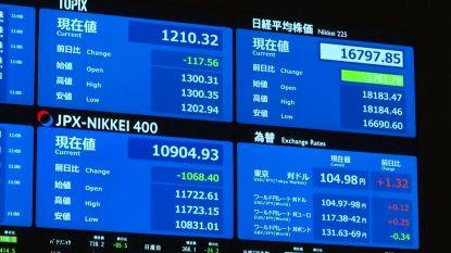 Na Amerikaanse beurs, kelderen ook opnieuw Aziatische beurzen