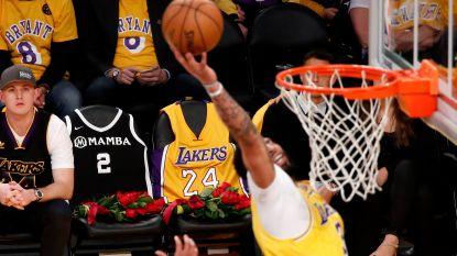"""LeBron James voert pakkende speech op voor vriend Kobe Bryant: """"Mamba out, maar niet vergeten"""""""
