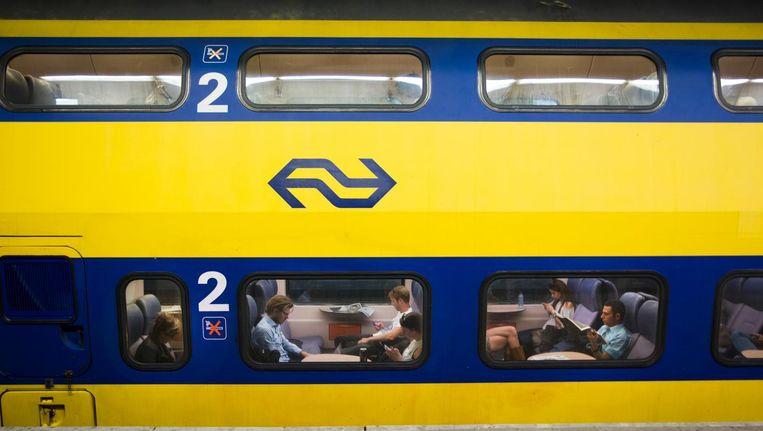 Het traject Amsterdam-Utrecht-Eindhoven: zes keer per uur een intercity. Beeld anp