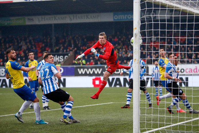 Thomas Hooyberghs in actie namens FC Eindhoven.