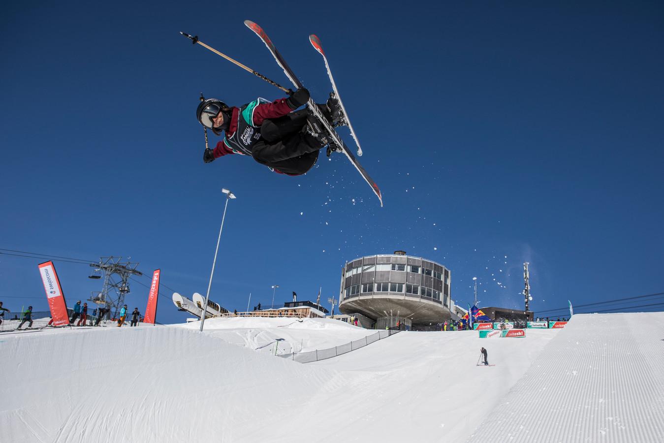 Freestyle-skiër Isabelle Hanssen uit Nijmegen.