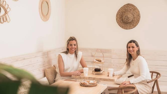 """'Sweet Coffee'-zussen Nathalie (34) en Julie (31) veroveren ook harten buiten Limburg: """"Allemaal doordat eerste pand op Hasseltse Botermarkt vrijkwam"""""""