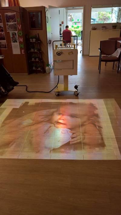 Magische vloer voor Boldershof
