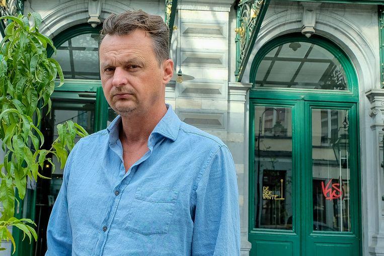 Michael De Cock is een Vlaamse acteur en theatermaker.  Beeld Marc Baert