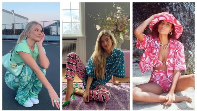 Summer of love 2.0? Psychedelische prints maken een comeback in onze kleerkast