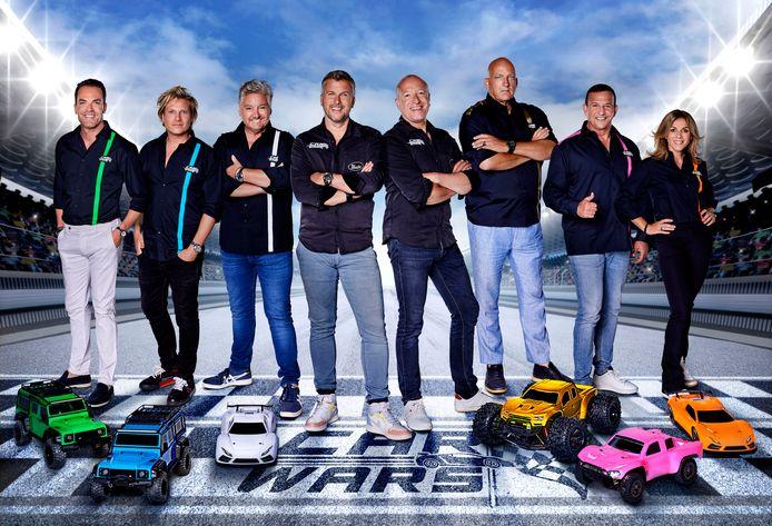 Car Wars met Robert Doornbos,  Jamie Westland, Rene Froger, Winston Gerschtanowitz, Tim Coronel, Herman den Blijker, Najib Amhali en Leontien van Moorsel.