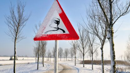 Opgelet voor spekgladde wegen: KMI kondigt code geel af over bijna heel het land