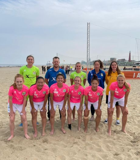 Vlekkeloze start van Beach Soccer Zeeland Ladies in eredivisie