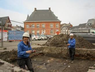 Nu al middeleeuwse resten gevonden tijdens archeologisch onderzoek op de Markt in Torhout