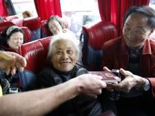 Golf van Chinese toeristen naar Nederland