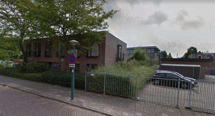 De daklozenopvang aan de Bellefroidlaan in Eindhoven