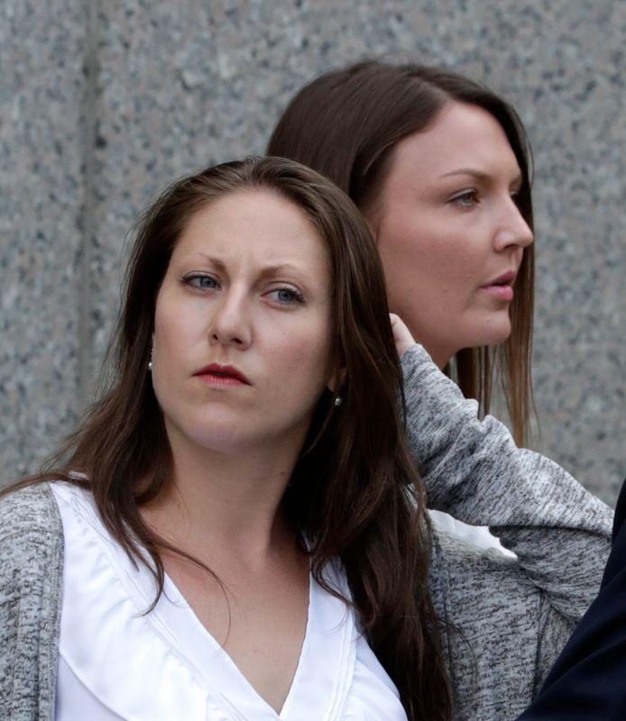 Michelle Licata et Courtney Wild, victimes présumées de Jeffrey Epstein.