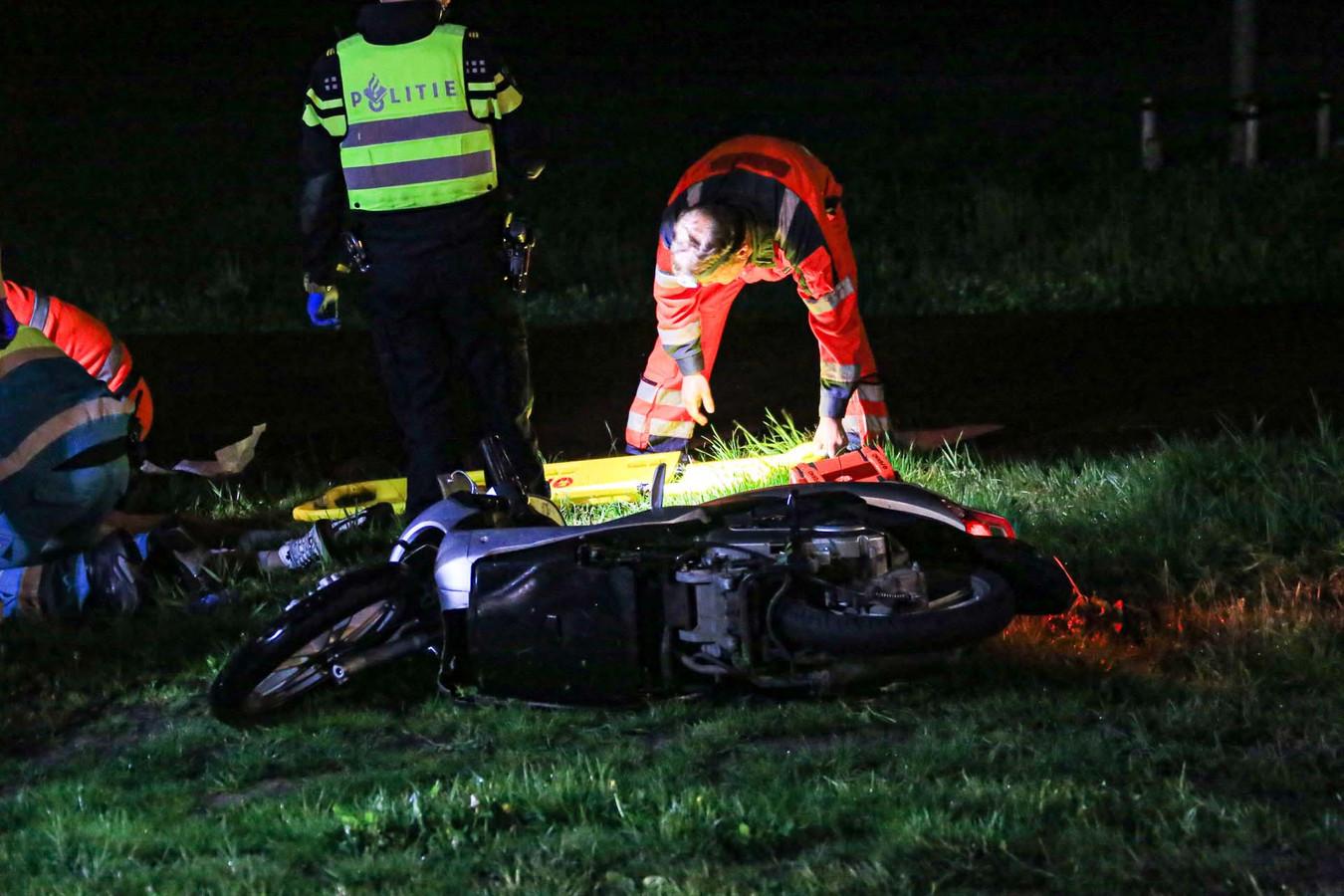 Bestuurder zwaargewond na ongeluk bij Beek en Donk.