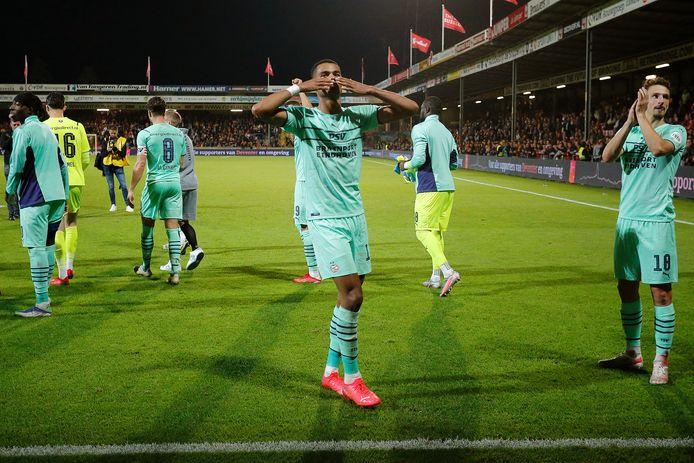 Cody Gakpo was enorm belangrijk voor PSV woensdagavond, met een goal en een voortrekkersrol na rust.