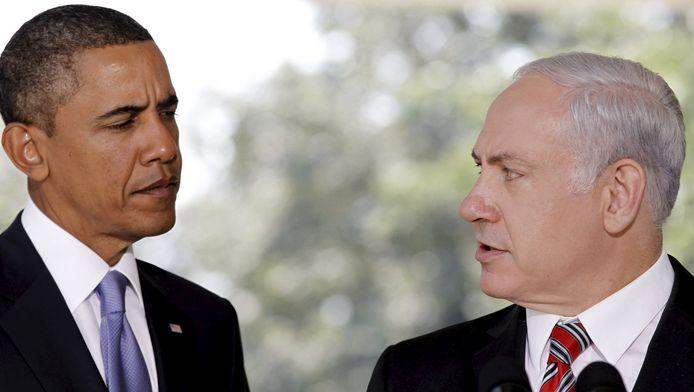 Obama en Netanyahu in 2010.