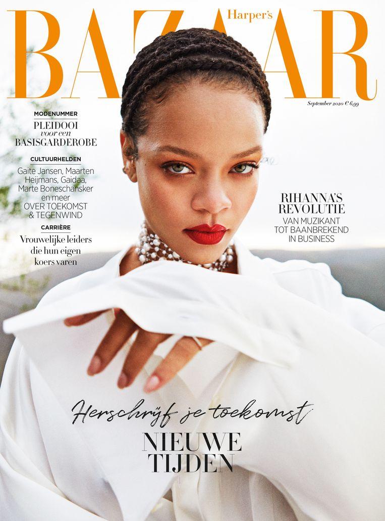 Fotografie Gray Sorrenti, creative direction Jen Brill, model Rihanna. Beeld Gray Sorrenti