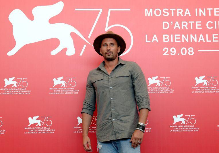 Matthias Schoenaerts op het filmfestival van Venetië. Beeld REUTERS