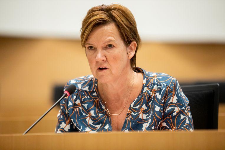 Els Van Hoof (CD&V): 'Er is vorig jaar gewoon minder gecontroleerd.' Beeld BELGA