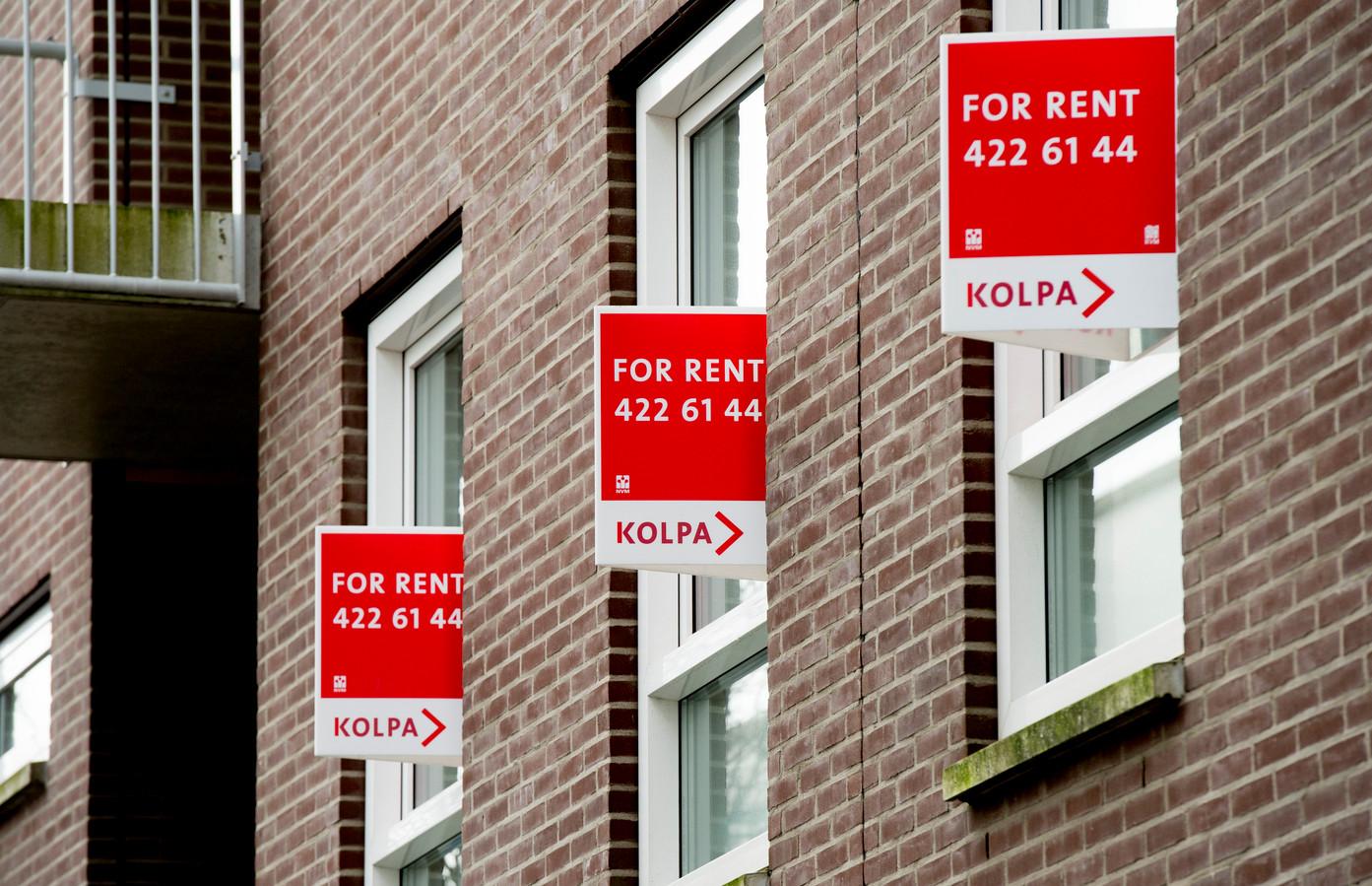 Huizen staan te huur in Rotterdam