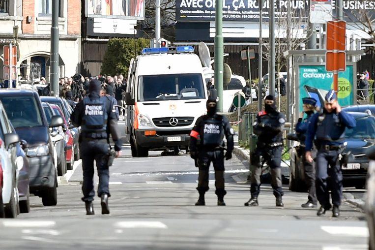 In de nasleep van de aanslagen op 22 maart stonden de Brusselse veiligheidsdiensten op scherp.  Beeld Photo News