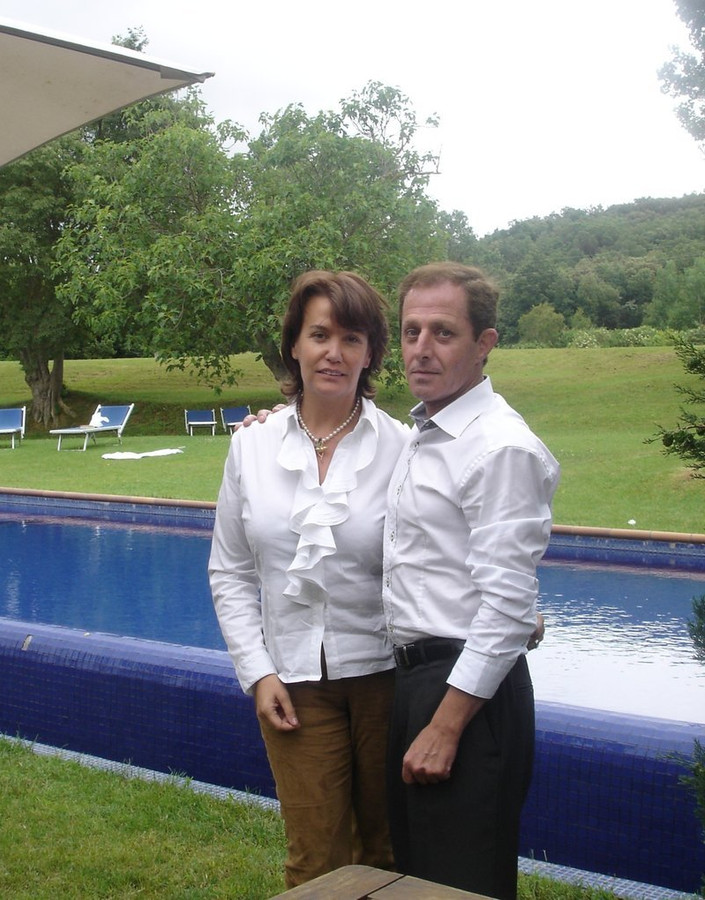 De Vlaamse Ingrid Sartiau en haar broer Alberto Sola Jimenez.