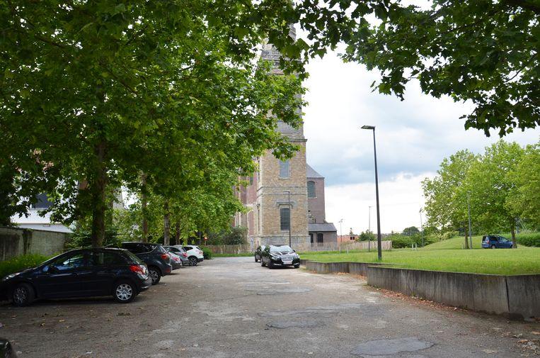 Op de parking achter de Abdijkerk komt één van de twee pop-up-pleinen waar er deze zomer kleinschalige evenementen zullen plaatsvinden.