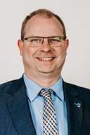 Gaston Van Tichelt (49), burgemeester van de Vlaamse grensgemeente Essen.