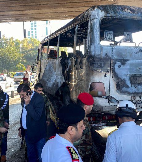 13 morts dans l'attaque d'un bus à Damas