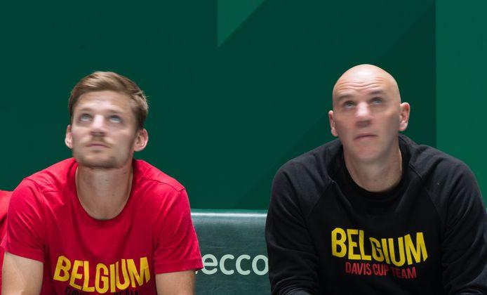 David Goffin en Johan Van Herck.