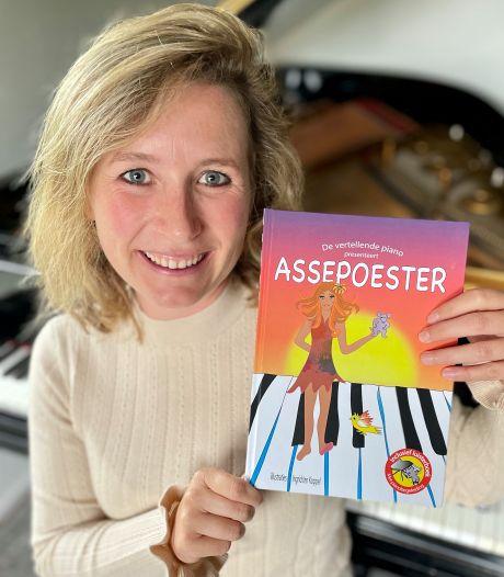 Boek open en muziek aan, Melissa's prentenboek is net even anders: 'Ik hoor dat ouders vaker voorlezen'
