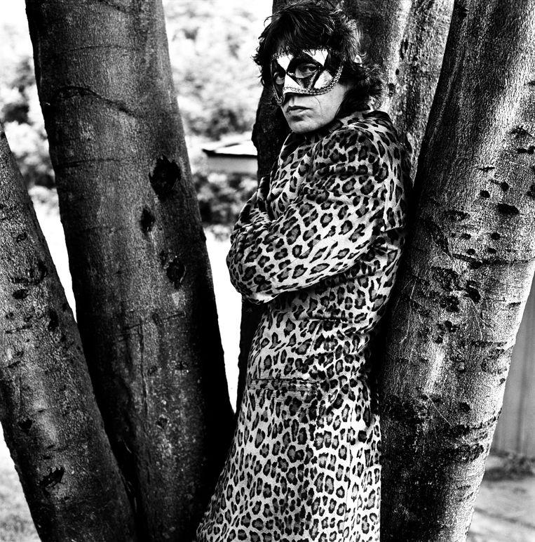 Mick Jagger, Toronto, 1994.  Beeld Anton Corbijn