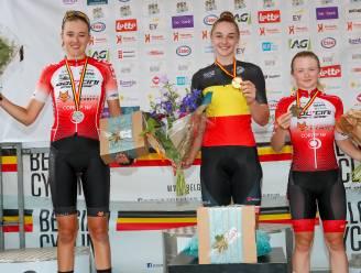 Ploegmaats Julie Hendrickx en Lani Wittevrongel tevreden met zilver en brons op BK meisjes U19