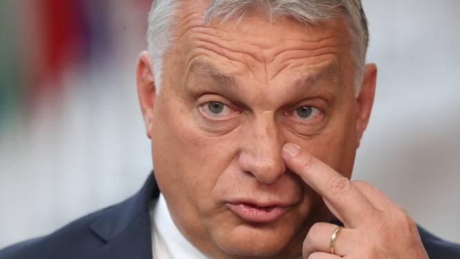 """Hongaarse premier Orban: """"Sancties tegen Polen, het beste land in Europa? Belachelijk!"""""""