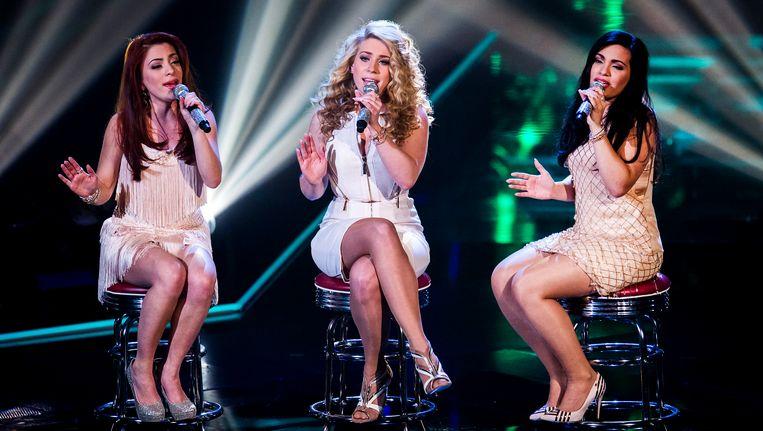 O'G3NE tijdens de finale van The Voice of Holland 2014. Beeld ANP Kippa