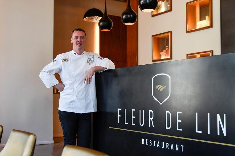 Lode De Roover behaalde met zijn restaurant Fleur de Lin opnieuw een score van 15 op 20 in Gault&Millau.