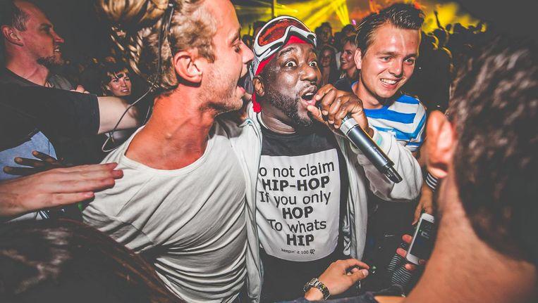 Def Rhymz is publieksfavoriet op het festival. Beeld Jordi Wallenburg Fotografie