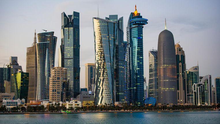Doha, de hoofdstad van Qatar Beeld thinkstock